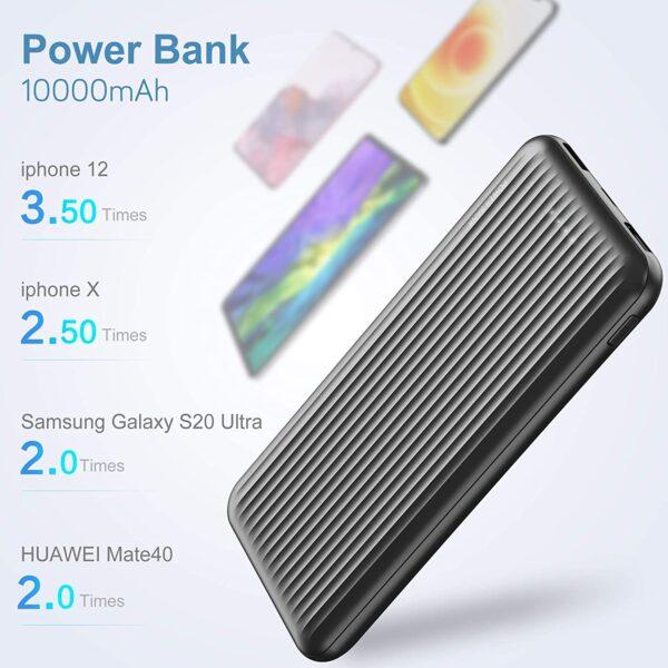 Batterie externe 10000mAh Undreem iPhone Samsung Huawei