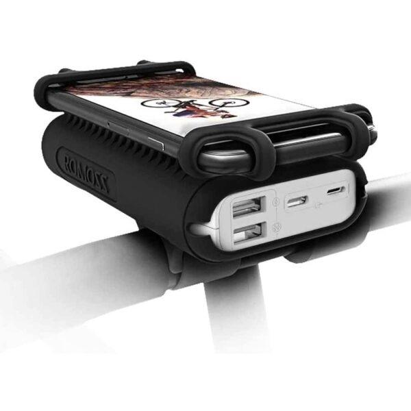 Batterie externe 10000mAh avec support vélo