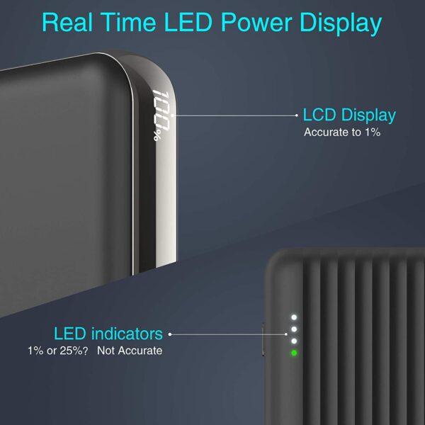 Batterie externe 10000mAh ockered LED