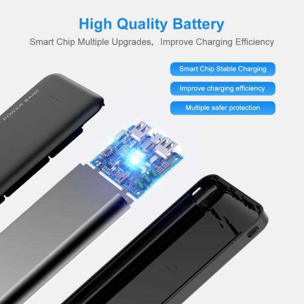 Batterie externe 10000mAh FLOVEME qualité supérieur