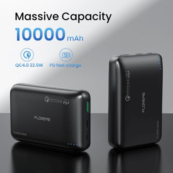 Batterie externe 10000mAh Franchised capacité massive