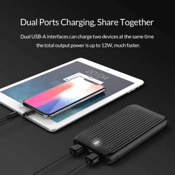 Batterie externe 10000mAh ORICO dual usb