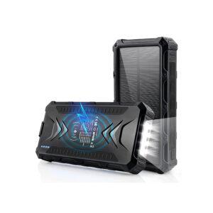 Batterie externe solaire DJROLL