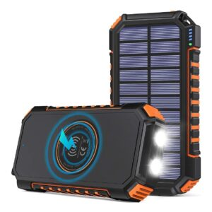 Batterie externe solaire Hiluckey