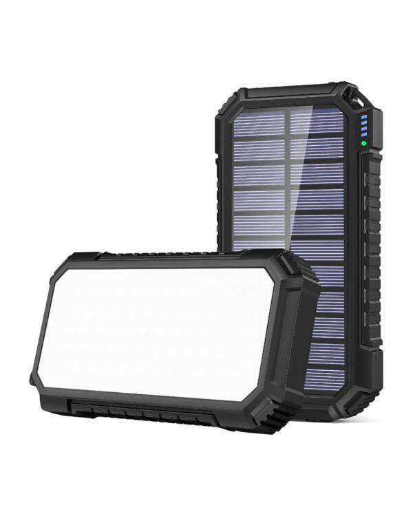 Batterie externe solaire Riapow