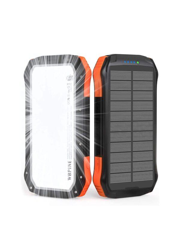 Batterie externe solaire WBPINE