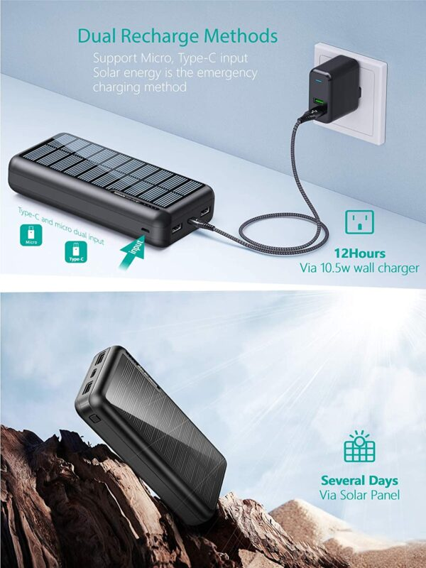 Batterie externe solaire Xiyihoo energie solaire