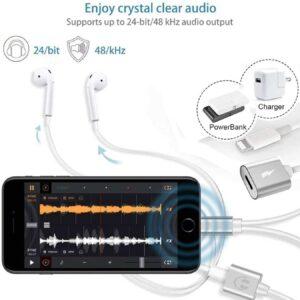Adaptateur iPhone Casque 4 en 1 24 bits 48 khz