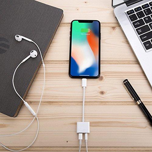 Adaptateur iPhone Jack et Lightning écouteurs