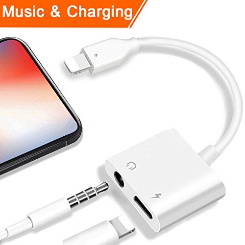 Adaptateur iPhone Jack et Lightning musique et charge