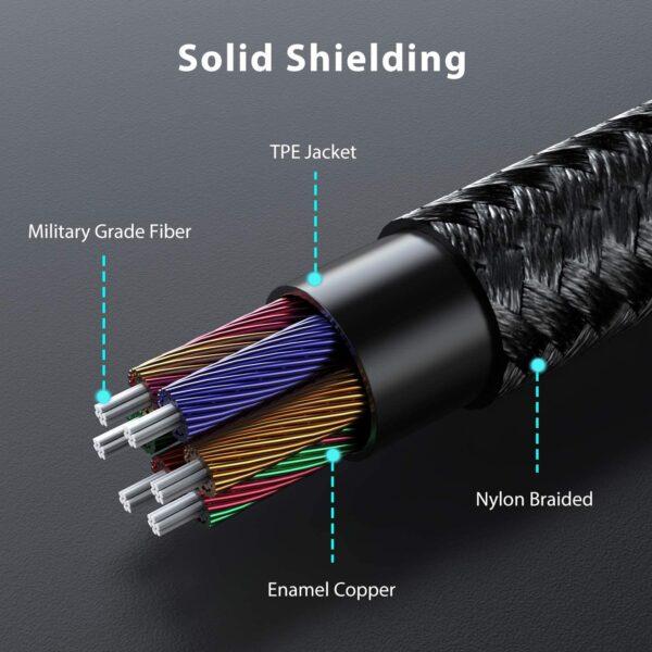 Adaptateur iPhone Lightning vers Jack Syncwire câble de qualité