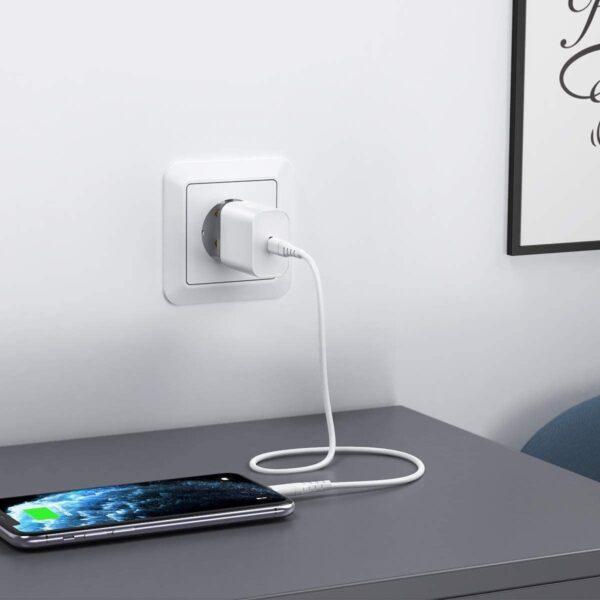 Adaptateur iPhone Secteur 18W apple