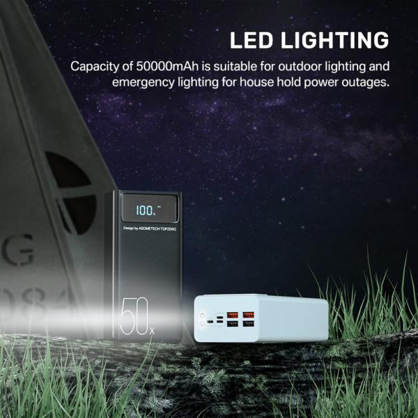 Batterie Externe 50000mAh Kase power bank