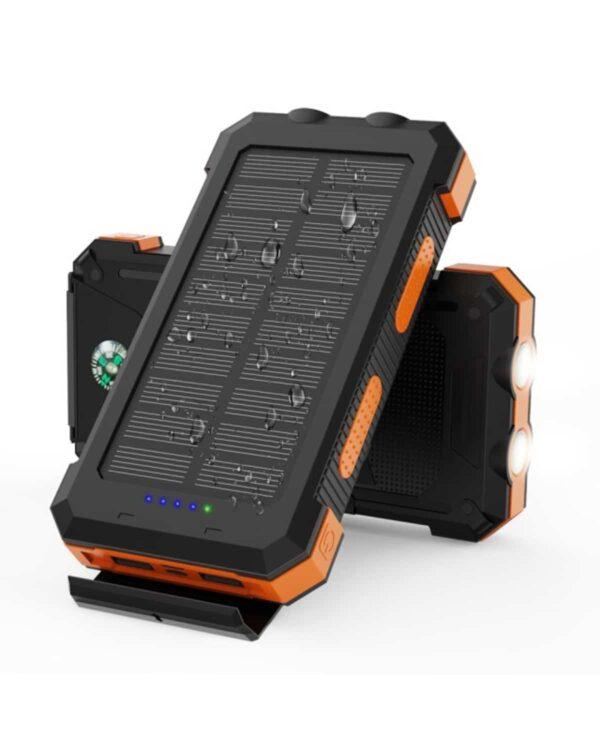 Batterie Externe Solaire 24000mAh