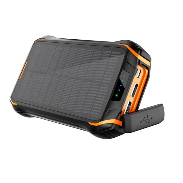 Batterie Externe Solaire Camping ports USB