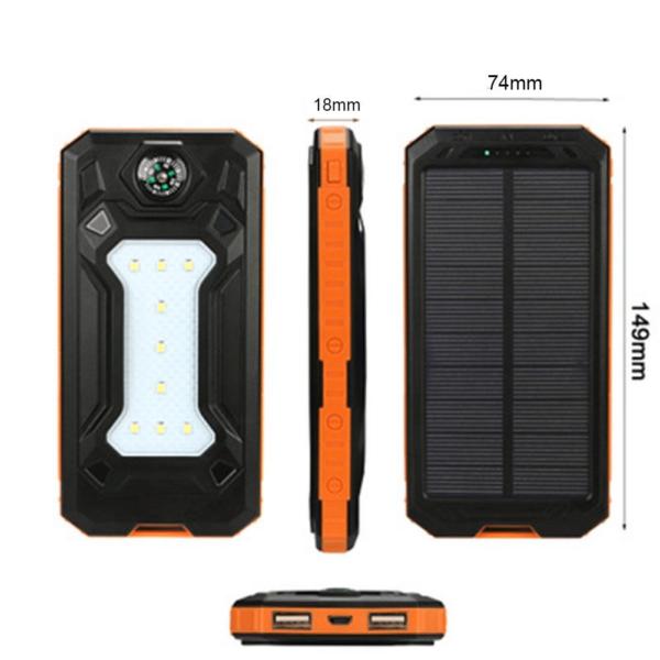 Batterie Externe Solaire XSun compacte