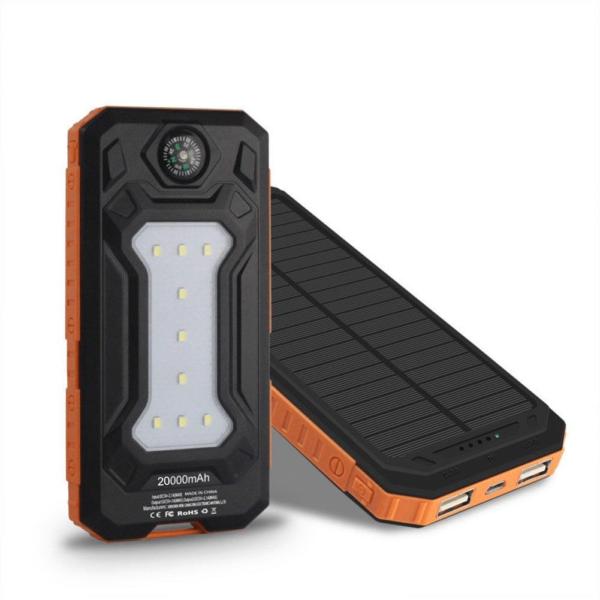 Batterie Externe Solaire XSun power bank