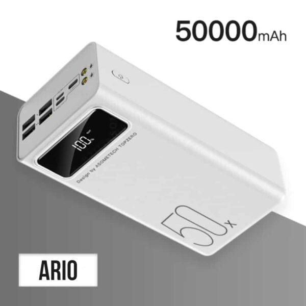 Batterie externe 50000mAh Ario Power Bank
