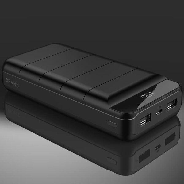 Batterie externe 50000mAh BOLOMI ports d'entrées