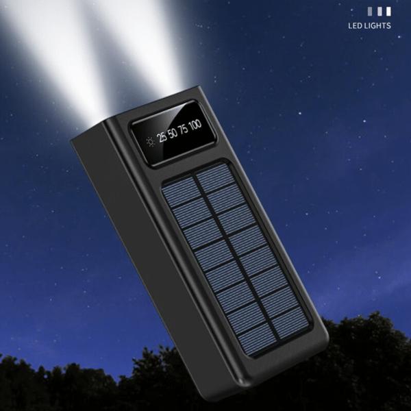 Batterie externe 50000mAh Bowlfull lampe flashlight