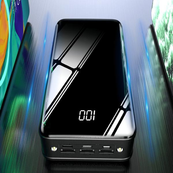 Batterie externe 50000mAh MengQI capacité énorme