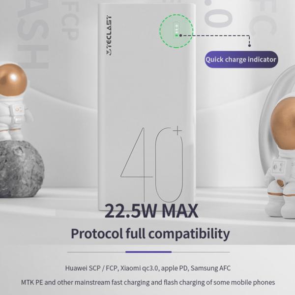 Batterie externe 50000mAh Teclast charge rapide