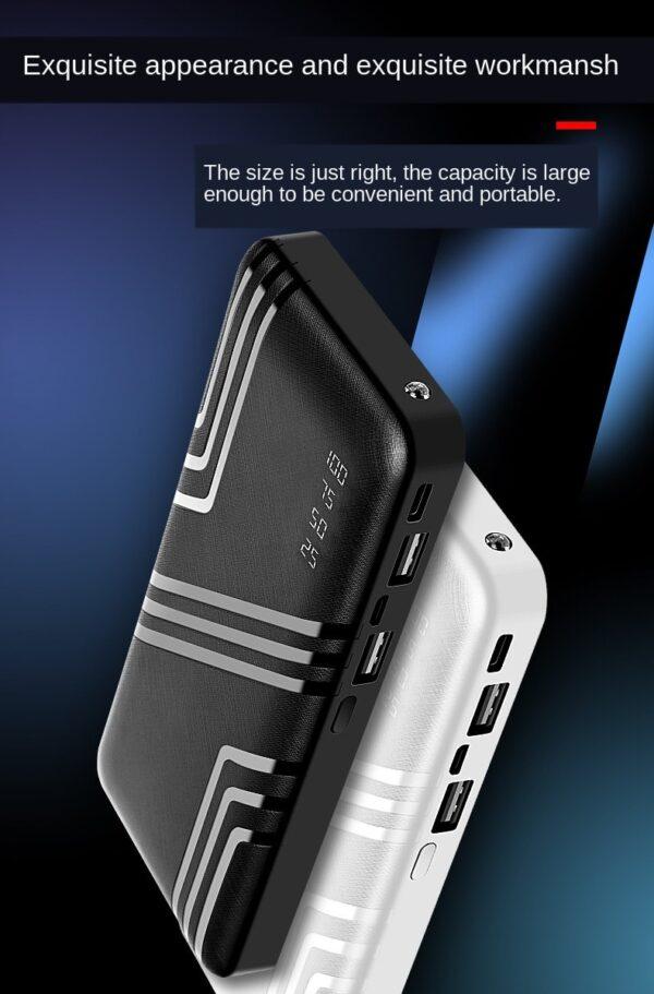 Batterie externe 50000mAh TopZERO avec une noire