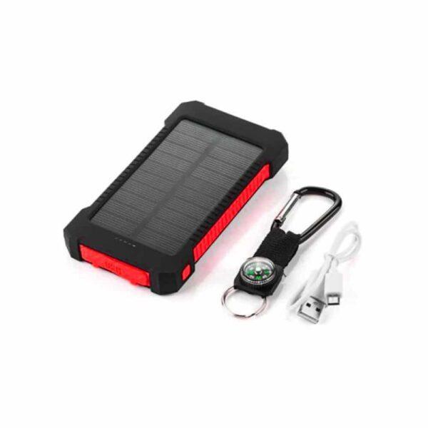 Batterie externe Double USB Solaire accessoire