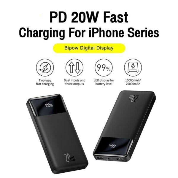Batterie externe Silvercrest 20000mAh charge rapide