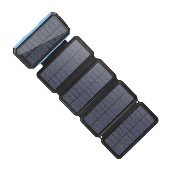 Batterie externe Solaire 5 panneaux