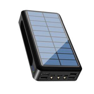 Batterie externe Solaire 80000mAh