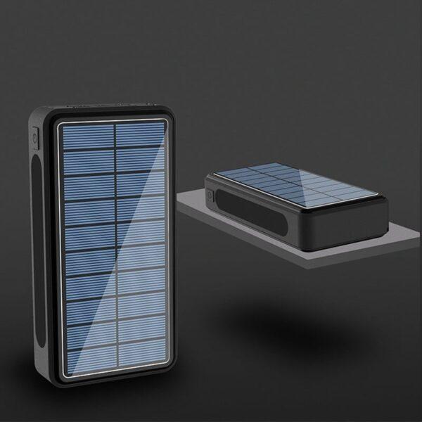 Batterie externe Solaire 80000mAh charge rapide
