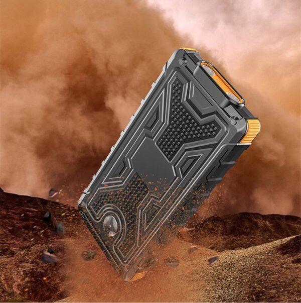 Batterie externe Solaire 8000mAh resiste à la poussiere