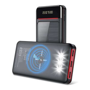 Batterie externe Solaire Aikove