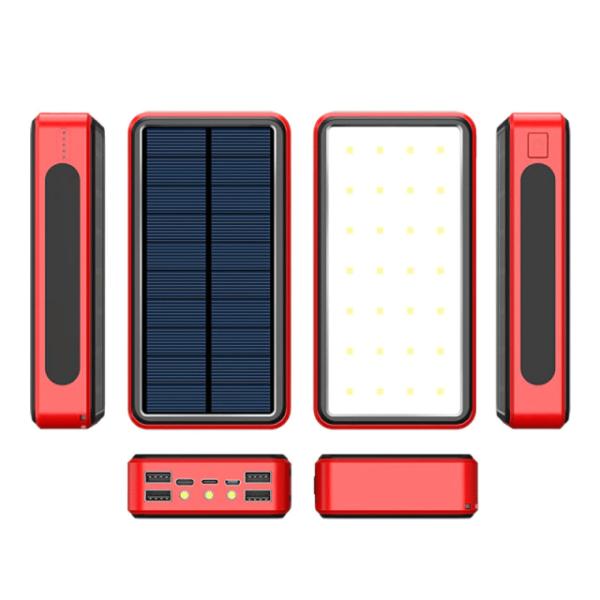 Batterie externe Solaire QCells vue de haut bas gauche droite