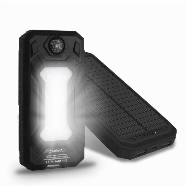 Batterie externe Solaire SunTech lampe de poche