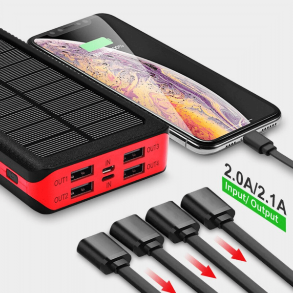 Batterie externe Solaire TrinaSolar 4 ports de sorties