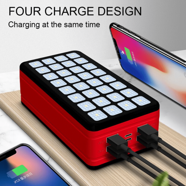 Batterie externe Solaire VolTec 4 charge iphone