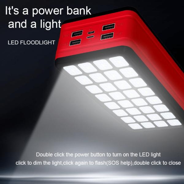 Batterie externe Solaire VolTec power bank