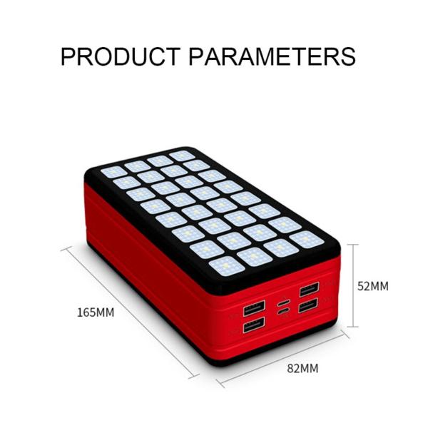 Batterie externe Solaire VolTec produit paramètre