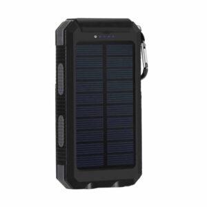Batterie externe avec Panneau Solaire