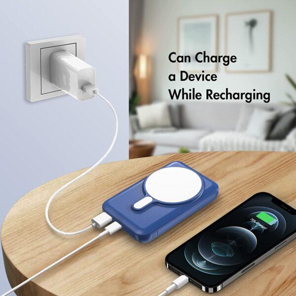 Batterie externe magnétique charge pendant qu elle charge