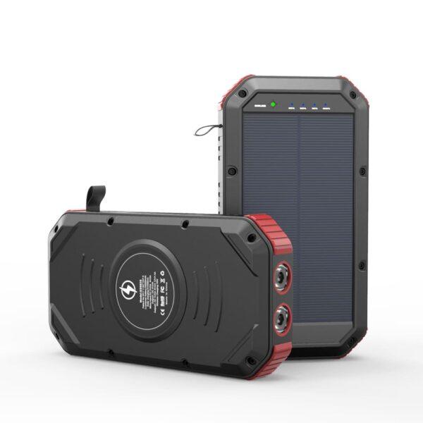 Batterie externe portable Solaire