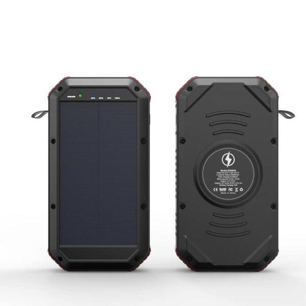 Batterie externe portable Solaire charge sans fil