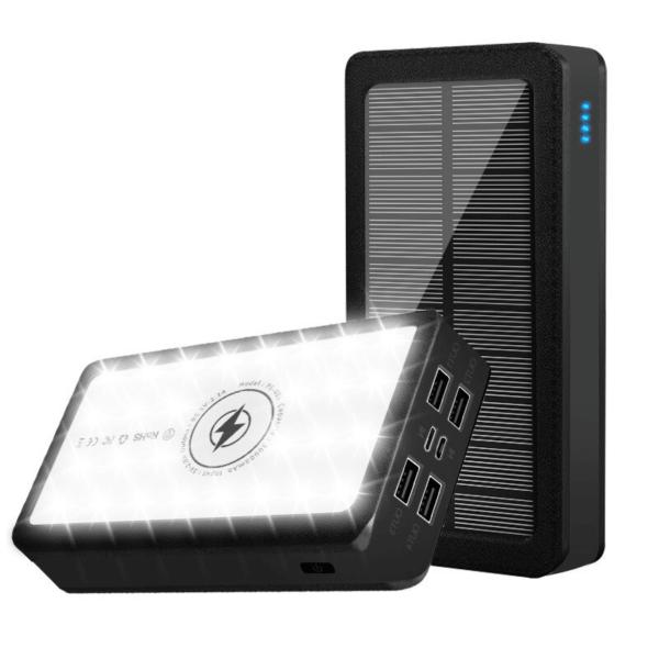 Batterie externe solaire Sans fil